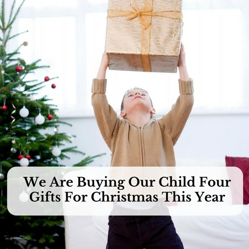 We are buying our child four gifts for christmas this year Are we going to get snow this year 2016