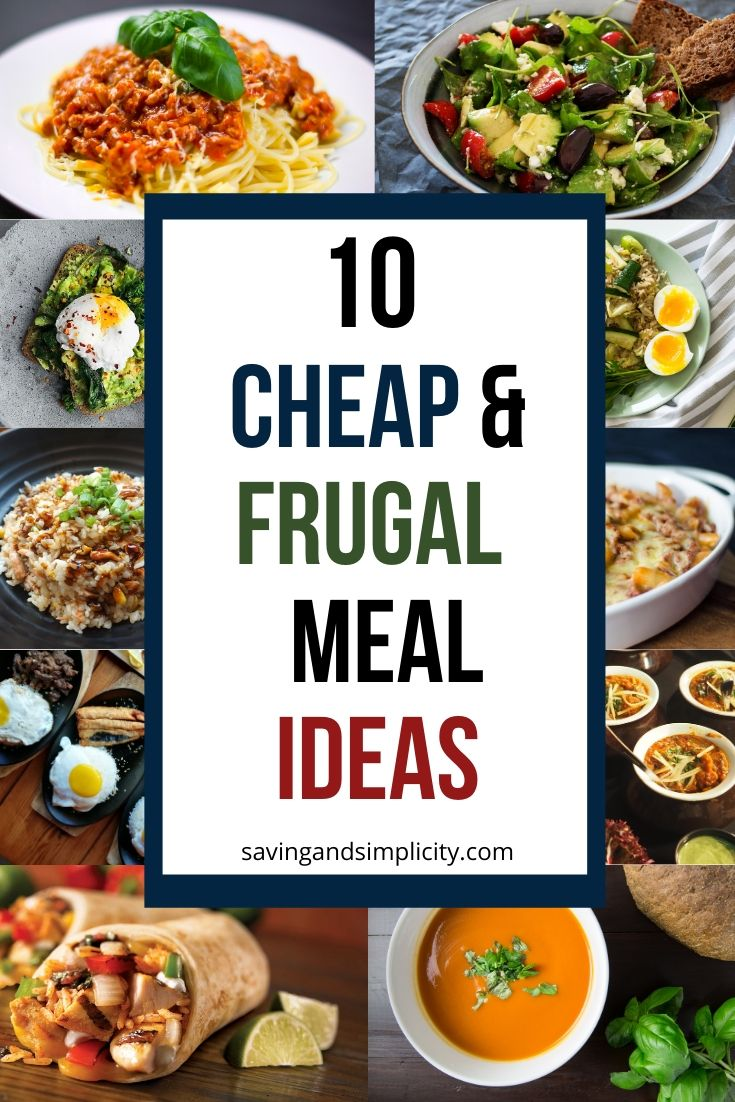 cheap meal ideas