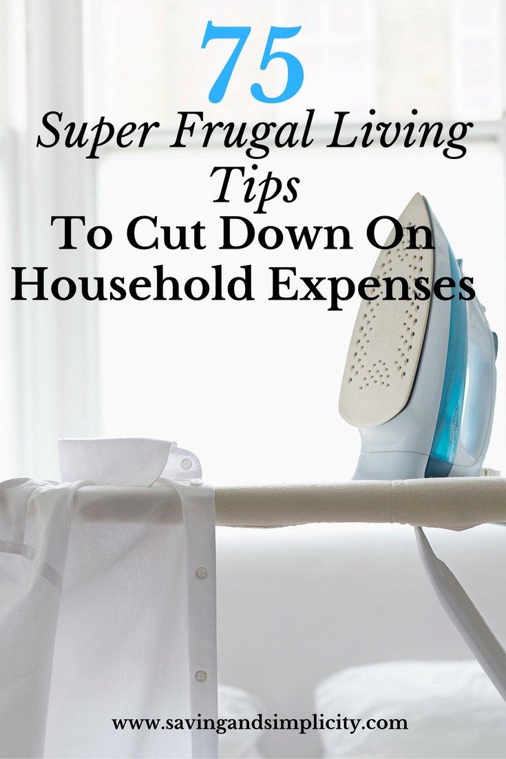 75 super frugal living money saving tips