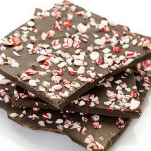 Dairy Free Chocolate Peppermint Bark
