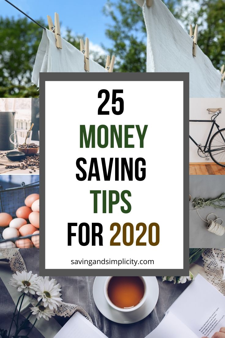 money saving tips for 2020