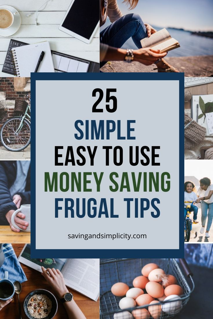 money saving frugal tips
