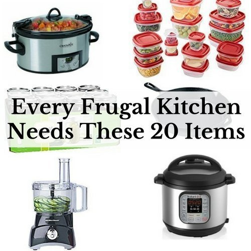 Kitchen Needs every frugal kitchen needs these 20 items - saving and simplicity