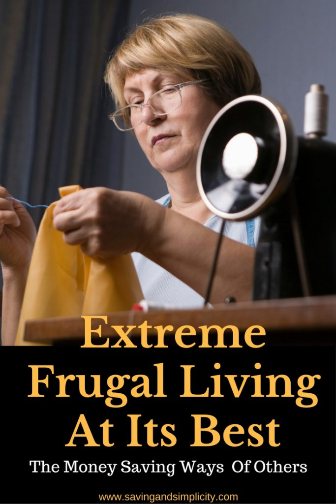 extreme frugal living