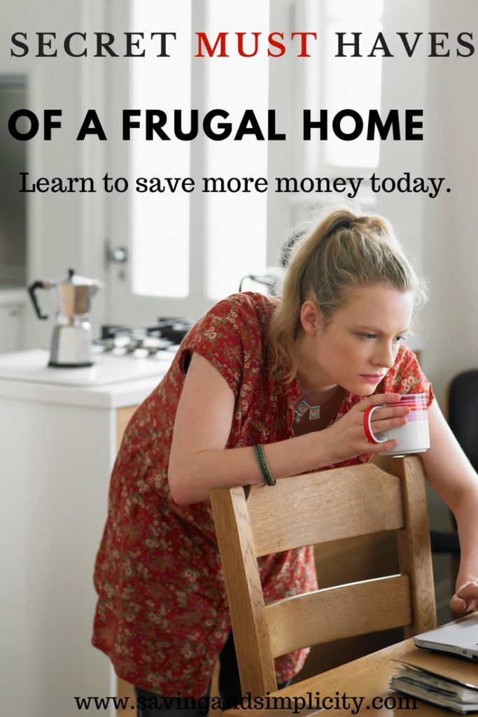 secrets of a frugal home