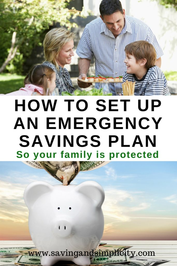 how to set up an emergency fund
