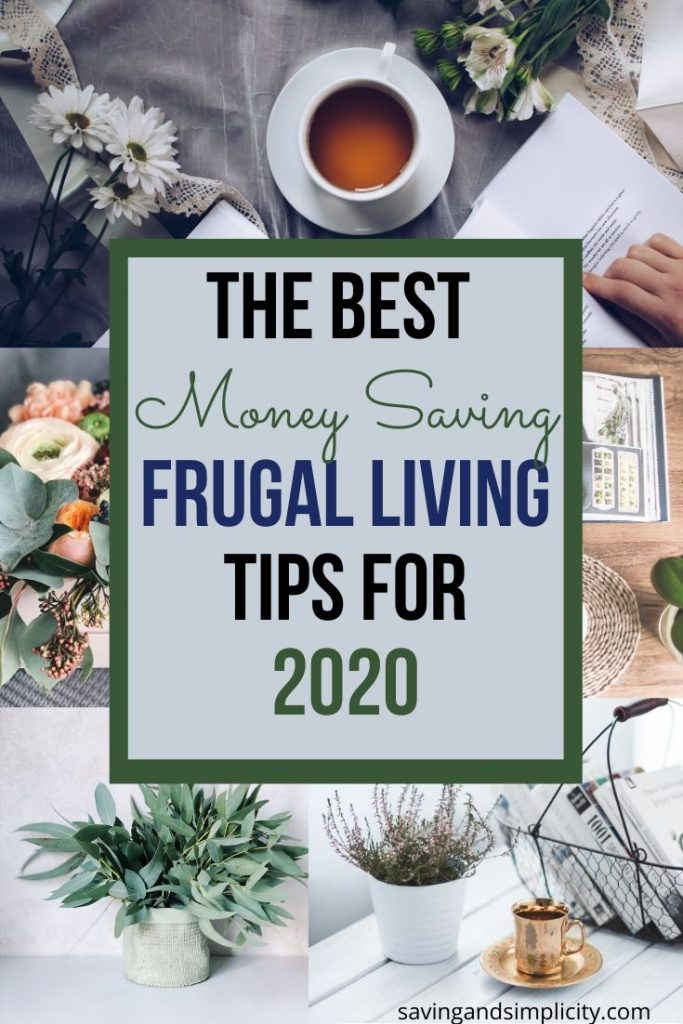 Are you looking for ways to save money? Here are 50 of the best frugal living tips to help you decrease your household expenses, cut your budget and save money.
