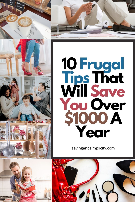 frugal tips save money