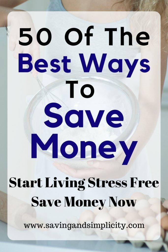 best ways to save money