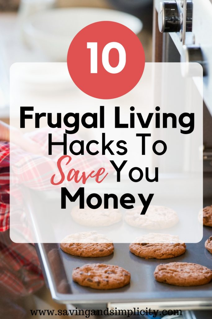 frugal living hacks