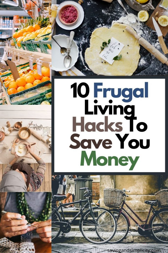 money saving frugal hacks