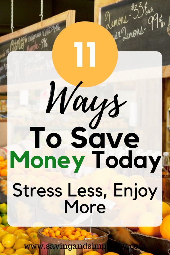 Today is the day. Start saving money on your household expenses. Start putting more money back into your wallet. 11 ways to save money today.
