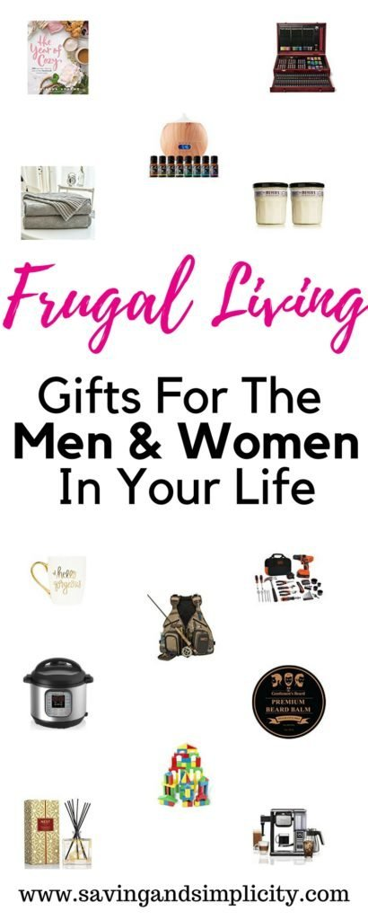 What makes a great gift? A gift that (..) A frugal living gift is about simplicity, finding joy, getting back to basics, saving money & living well on less.