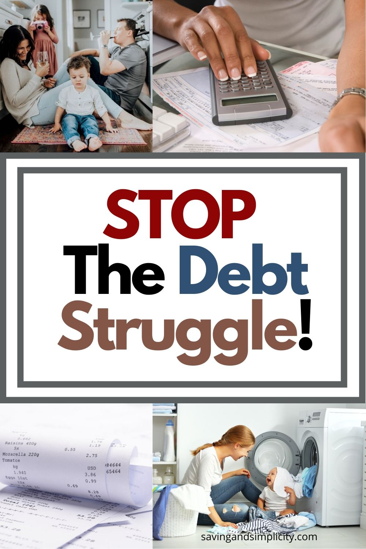 debt struggle