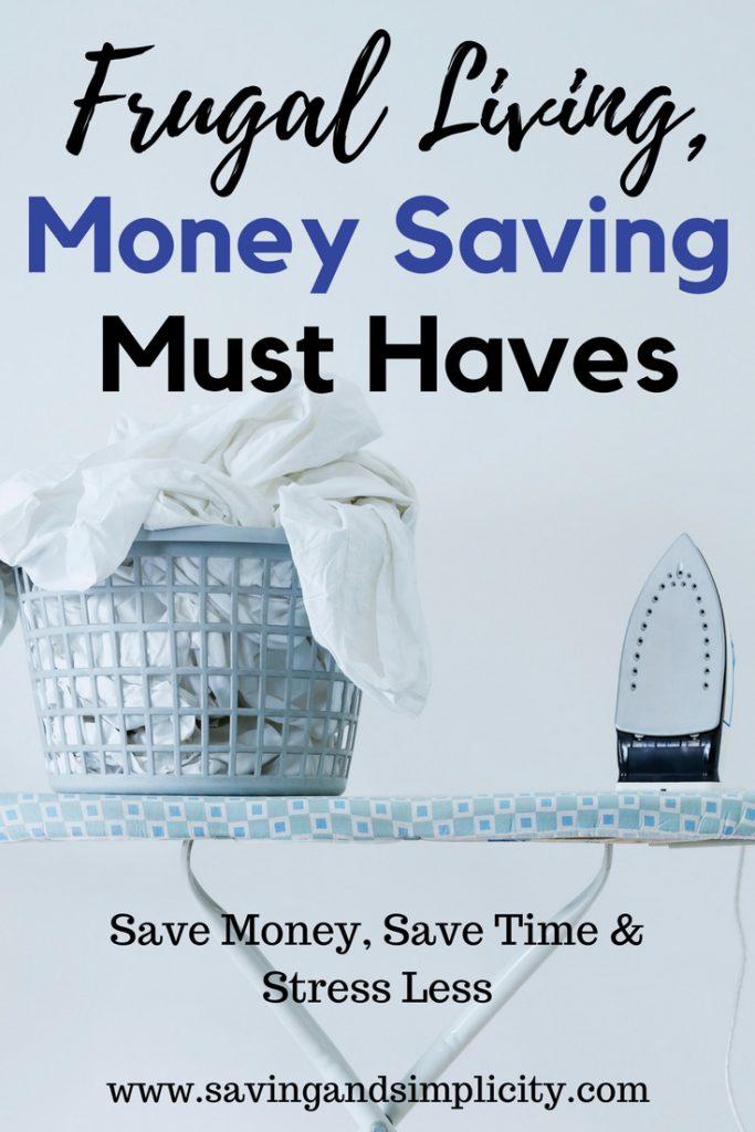 money saving must haves