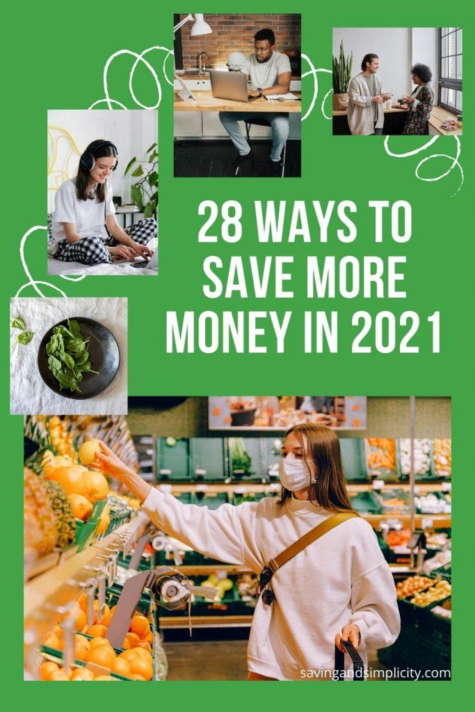 save money 2021