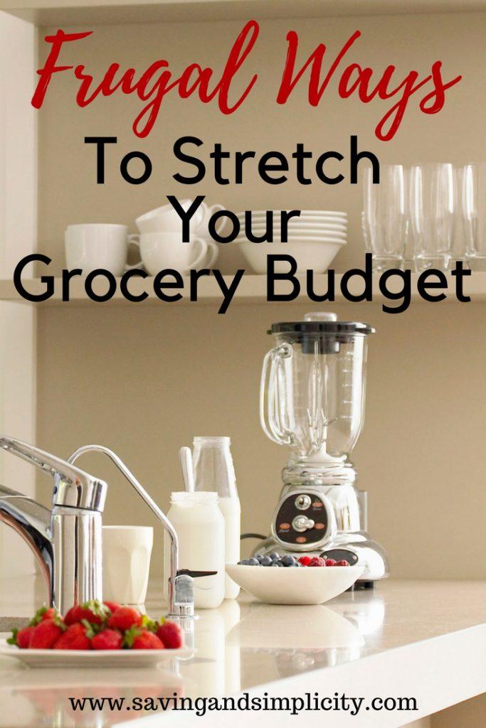 stretch grocery budget