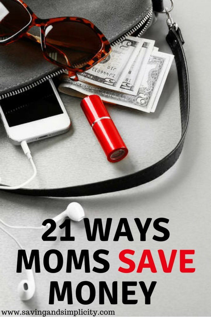 Have you ever wondered how stay at home moms afford it all?  How they make it work? Learn 21 ways stay at home parents save and make it work on one income.