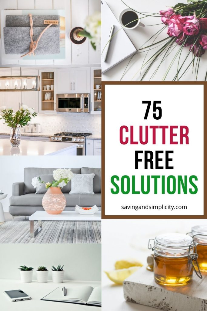 clutter free solutions