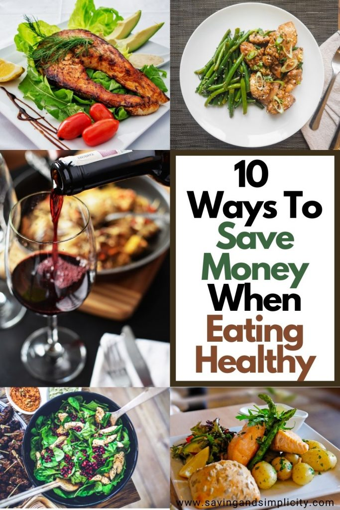 ways to eat healthy on a budget