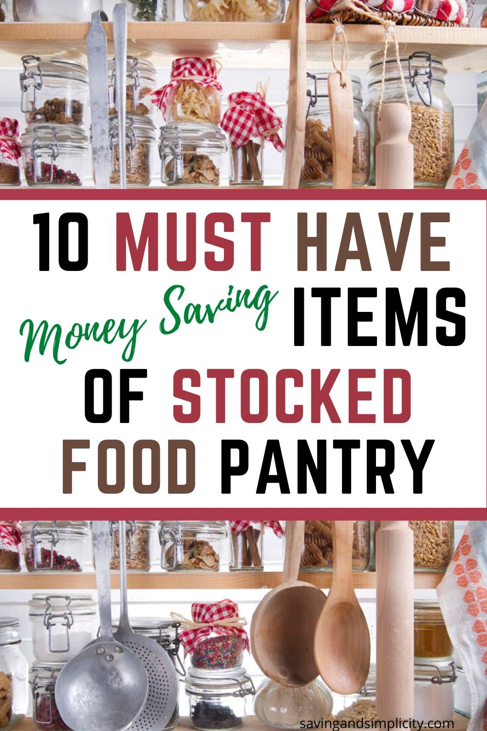 must have food pantry