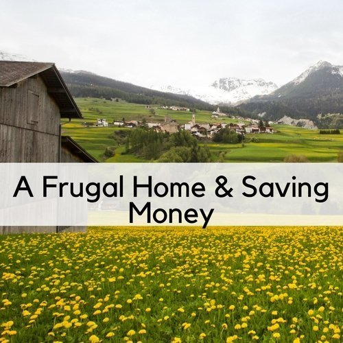 A Frugal Home & Saving Money