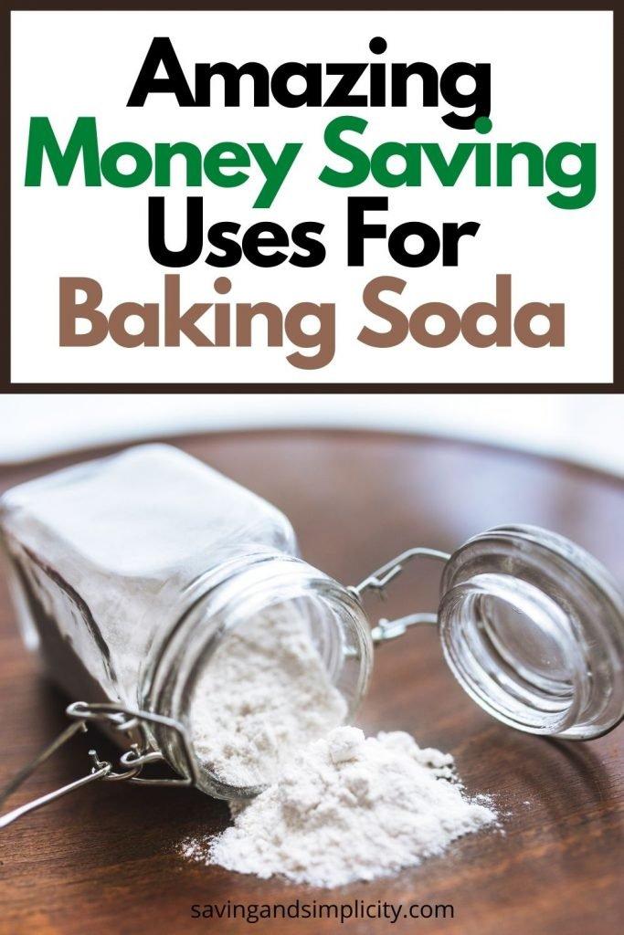 uses baking soda