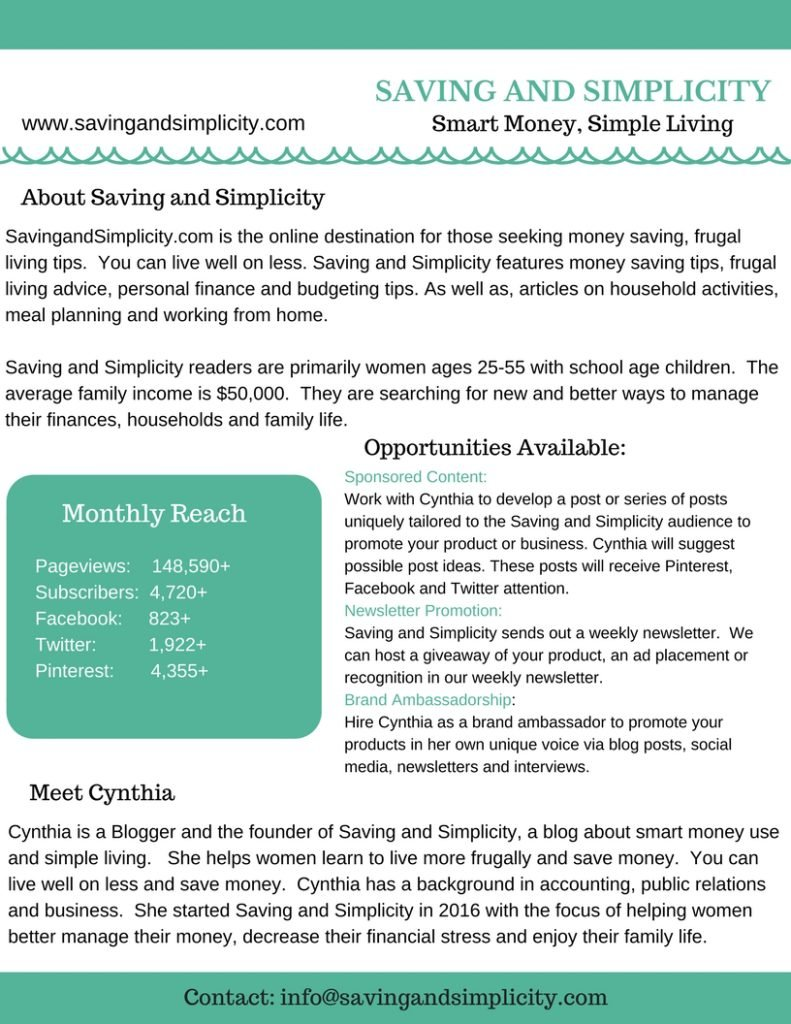 Saving and Simplicity - Smart Money, Simple Living