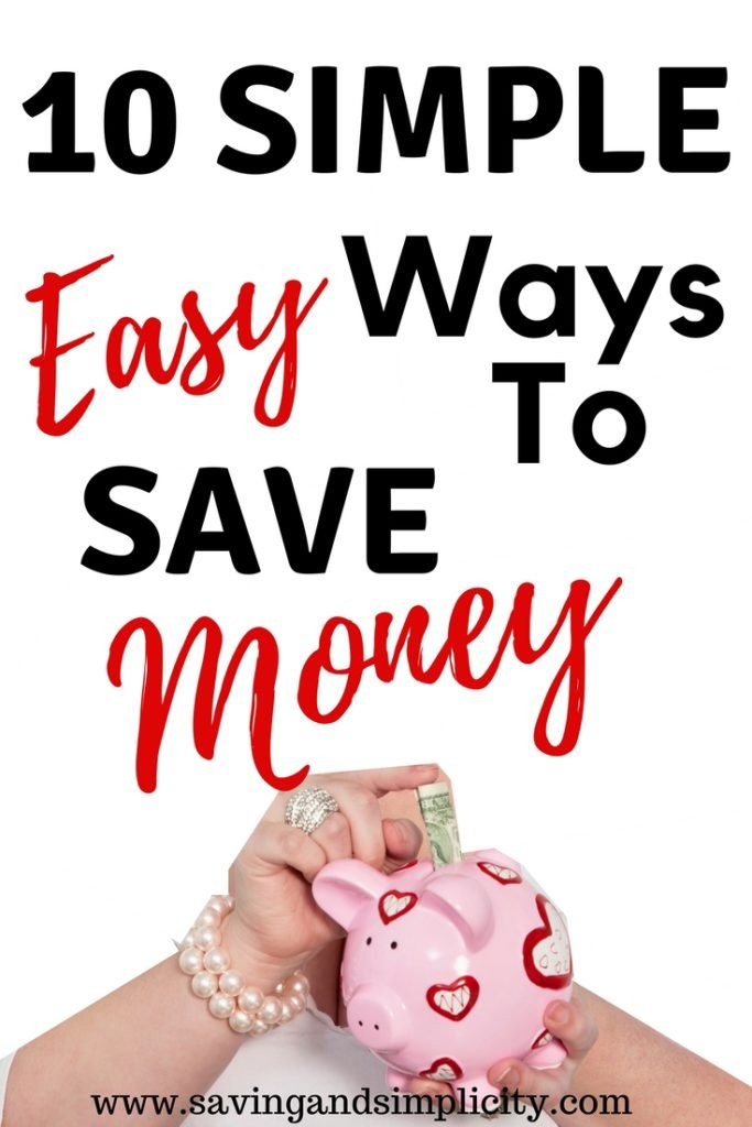 Saving money just got simple and easy. Whether you are saving for a much needed vacation or the rent is due or you are saving to quit your 9-5.  Saving money just got a whole lot easier. Learn 10 simple easy ways to save money. Ways that helped us save over $1000.