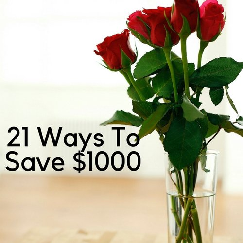 21 Ways To Save $1000