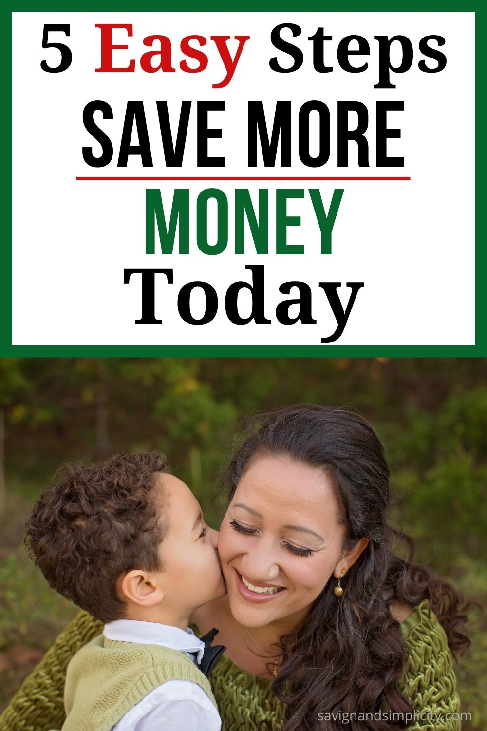 easy steps to save more money