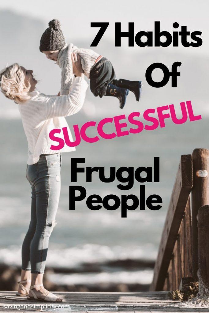 frugal people