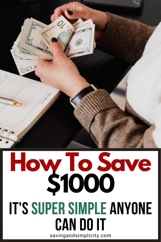 save $1000