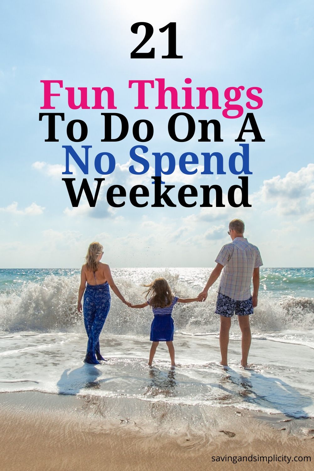 fun things to do on a no spend weekend