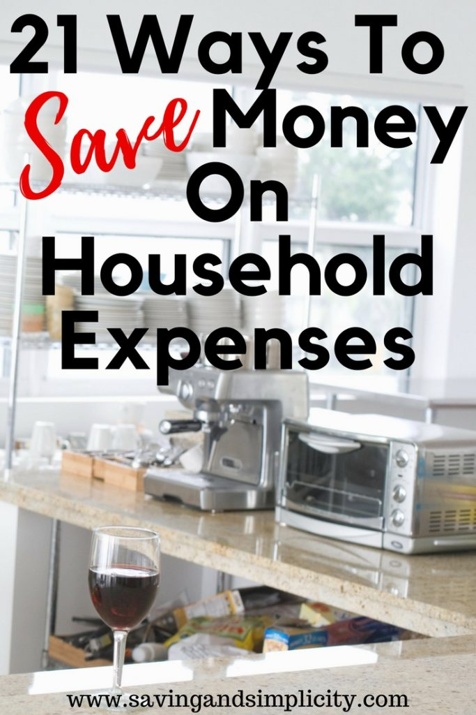 Saving money just got easier. No more clipping coupons and saving pennies. 21 ways to save money on your household expenses. Frugal living tips and ideas to help you get ahead.