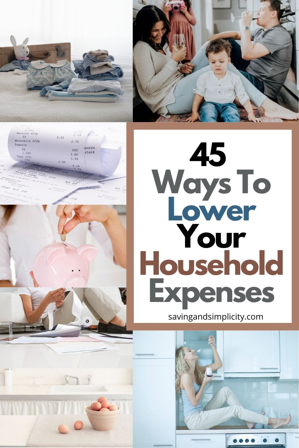 ways to lower household costs