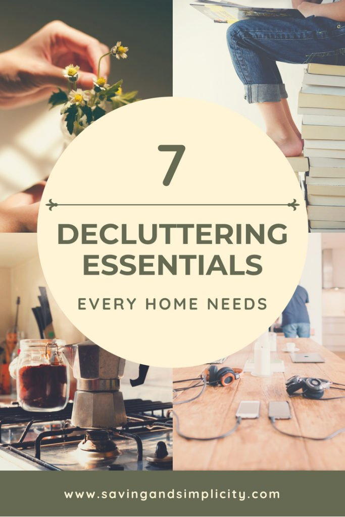 Do you dream of an organized home and turning your cluttered mess into an organized success? Learn 7 declutering essentials every home needs.