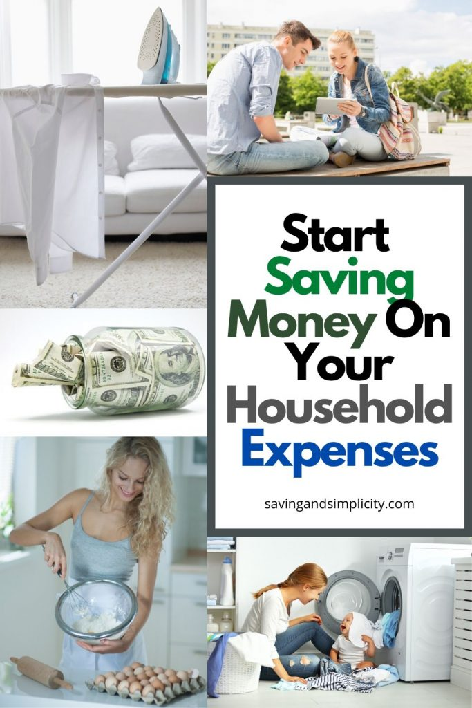 start saving money on your household expenses