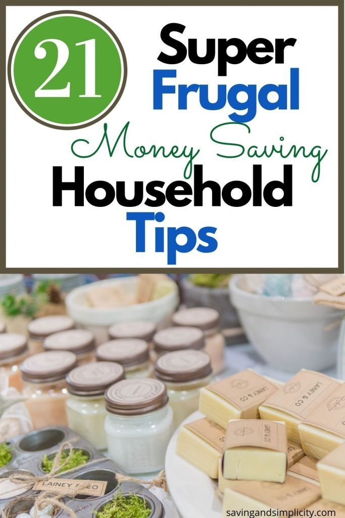 super frugal household
