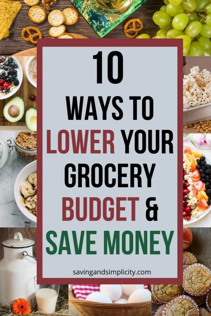 lower your grocery budget