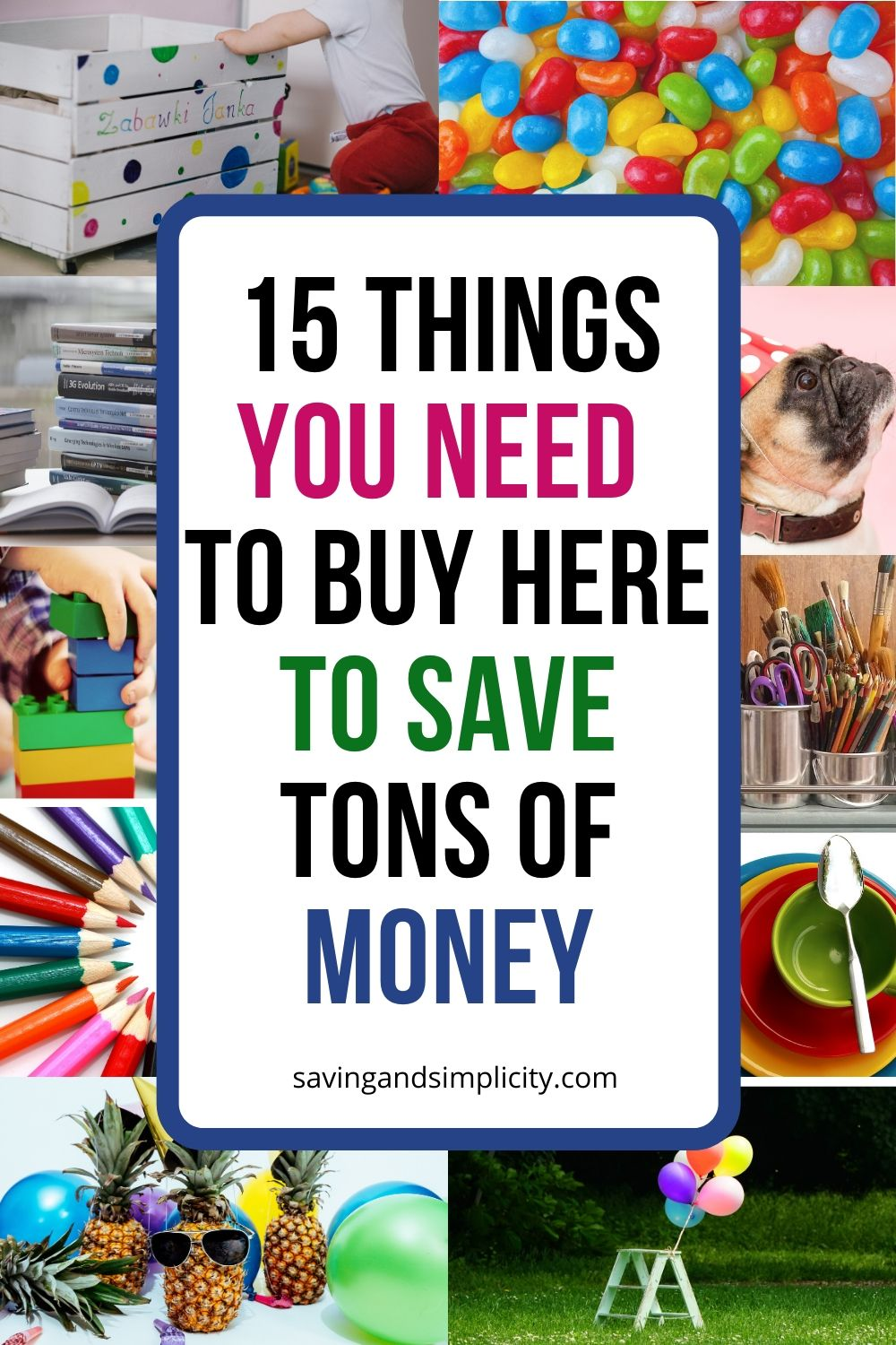 save tons of money