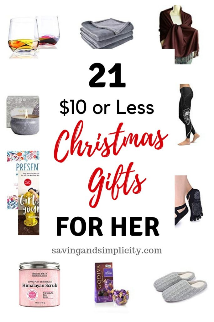 cheap gifts for her