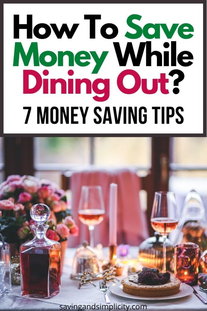 save money dining out