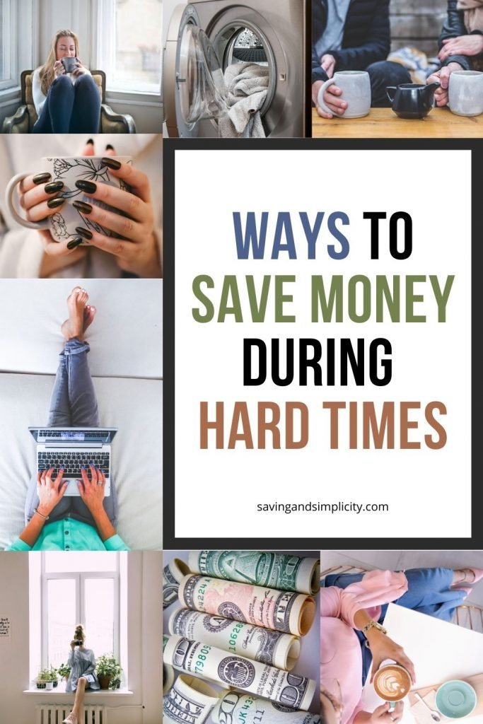 save money during hard times