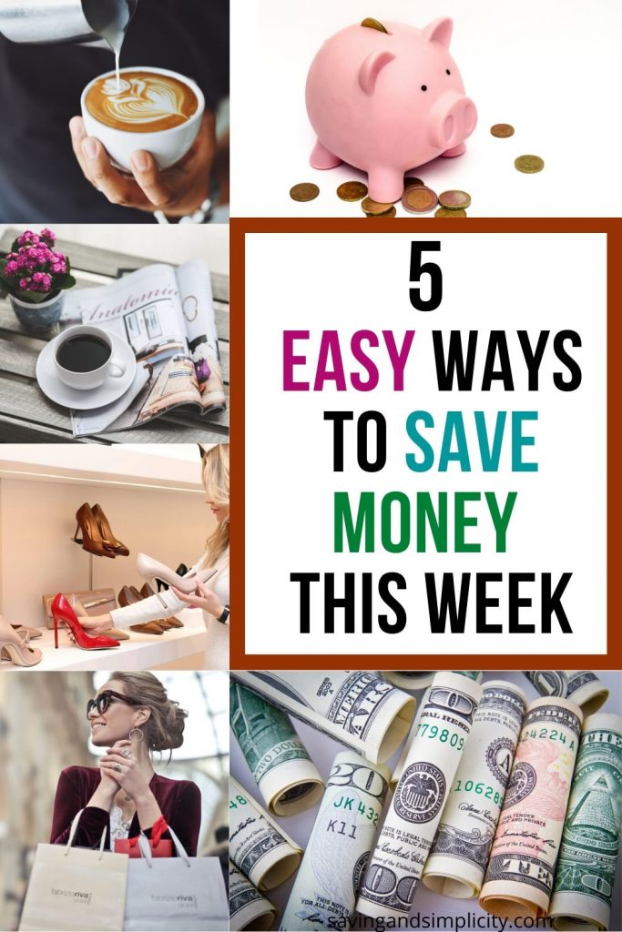 5 ways to save cash