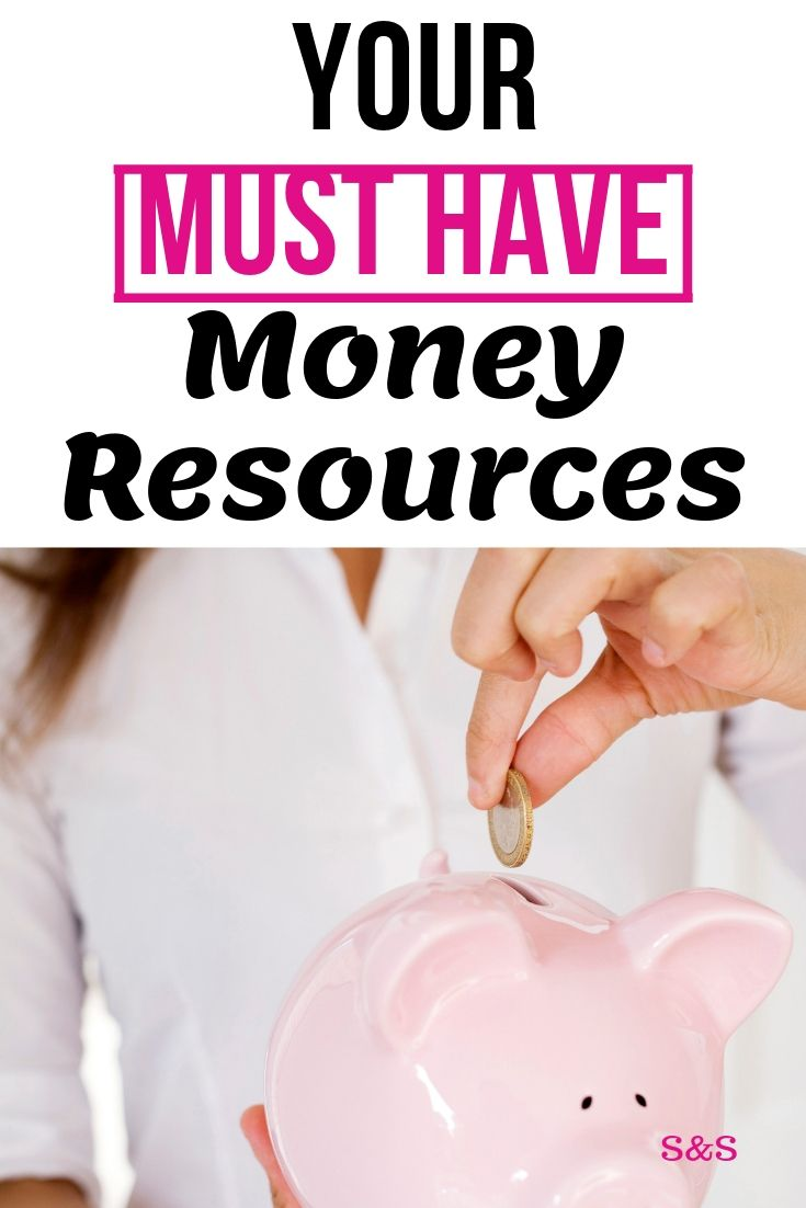 Take control of your finances with these simple, easy to use money saving resources. Budgeting, saving money, earning more. Your must have money resources.