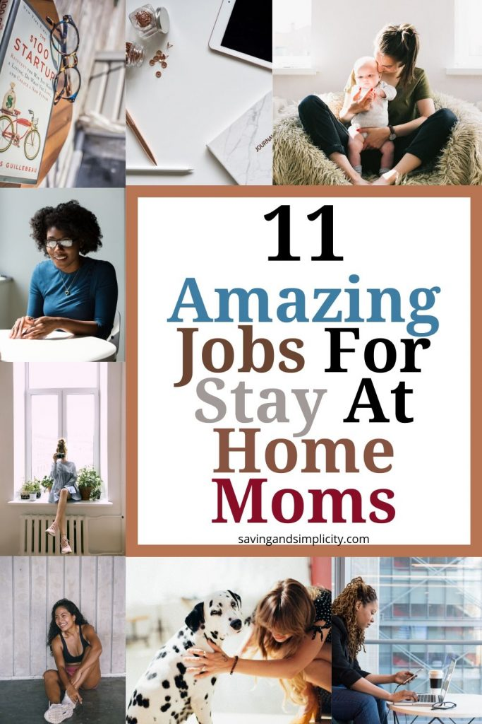 stay at home mom jobs
