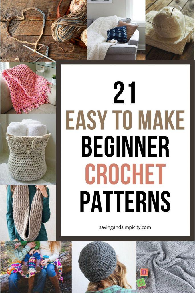 crochet patterns beginners