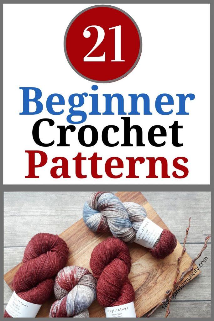 beginner crochet patterns