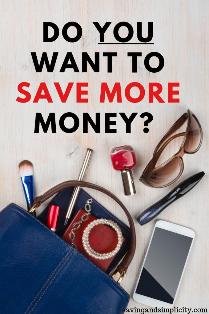 want to save more money